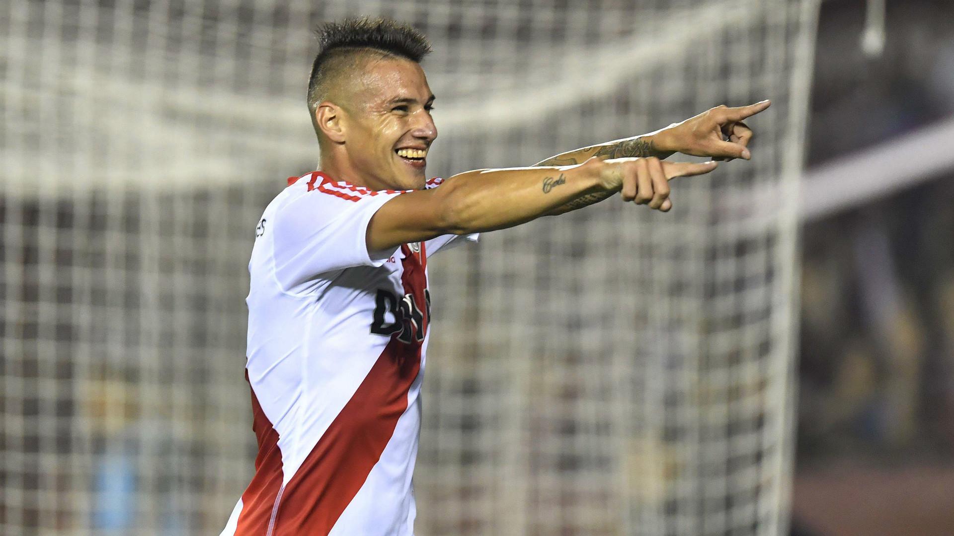 Carlos Auzqui Lanus River Plate Primera Division Argentina 21032017