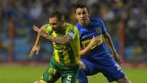 Hernan Lamberti Leonardo Jara Boca Juniors Aldosivi Campeonato de Primera Division 16042016