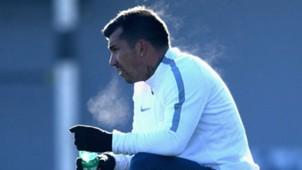 Gary Medel, entrenándose en Inter