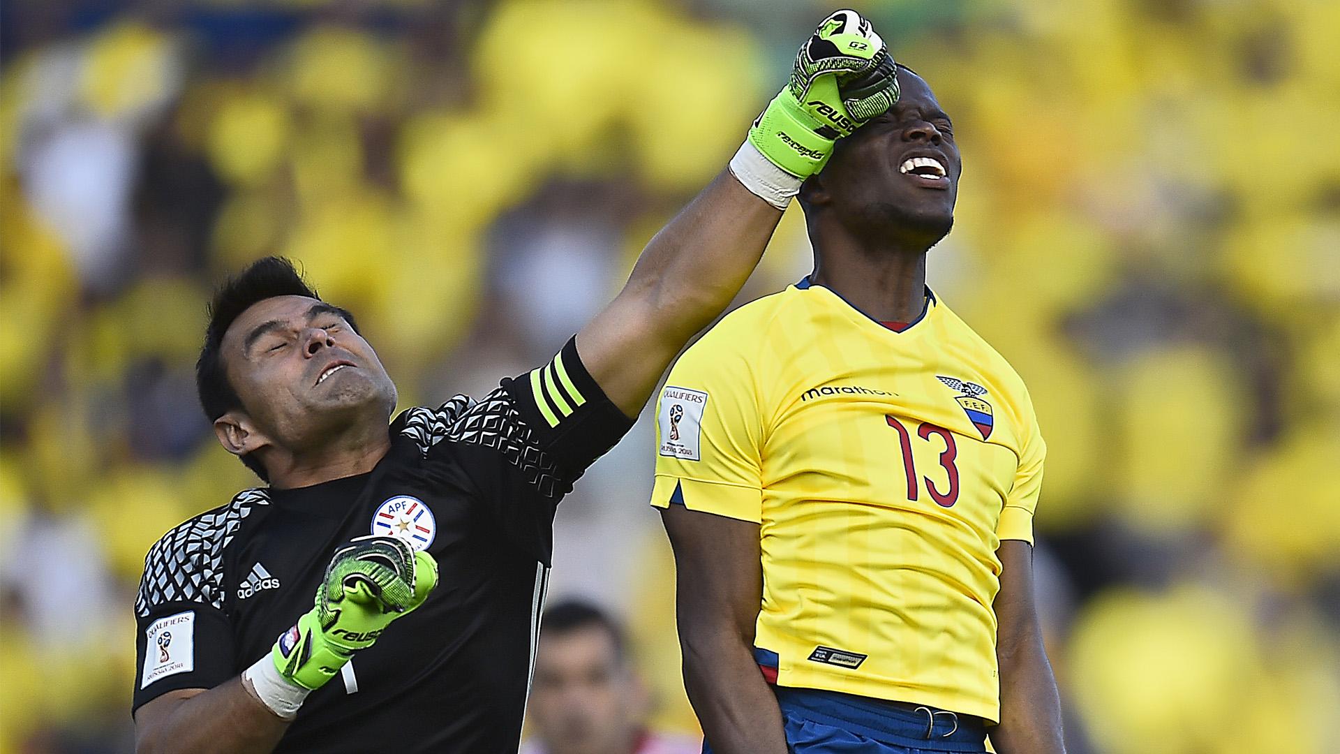 Justo Villar Ecuador Paraguay Eliminatorias 24032016