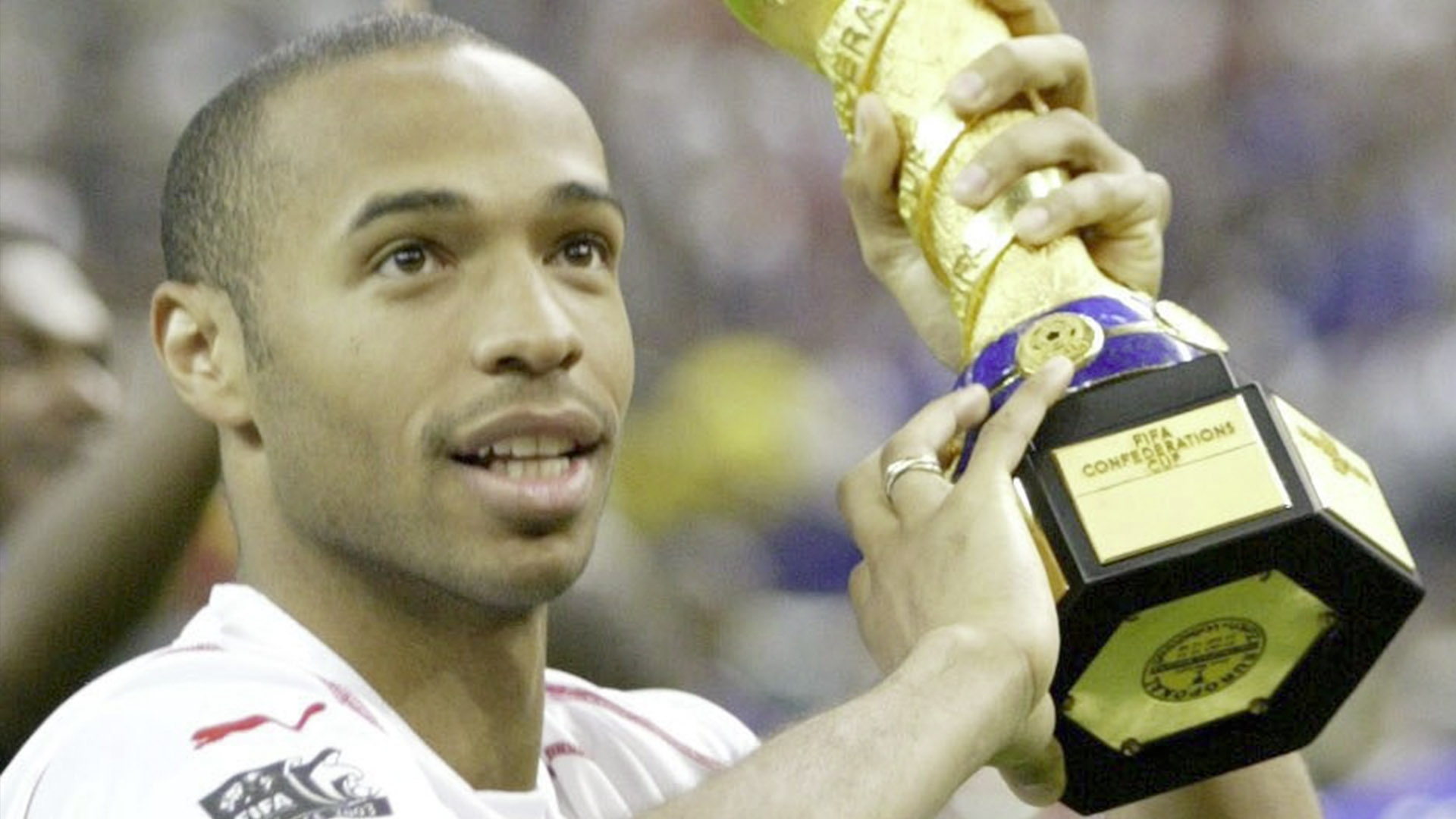 Thierry Henry Confederations Cup France 2003