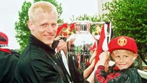 Peter Schmeichel Kasper Schmeichel Manchester United
