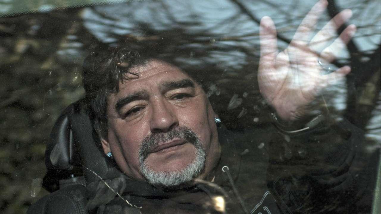 Velatorio del padre de Diego Maradona