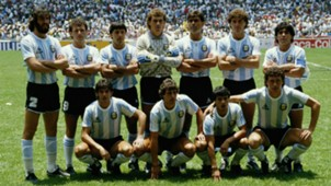 Argentina World Cup Mexico 1986