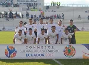 Bolivia sub 20