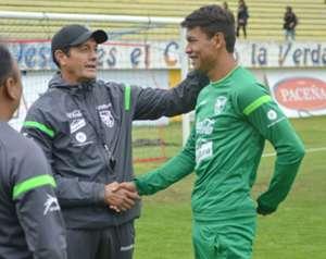 Mauricio Soria y José Sagredo