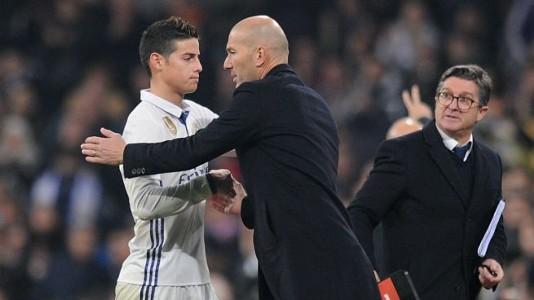 James Rodríguez - Zidane - 2017