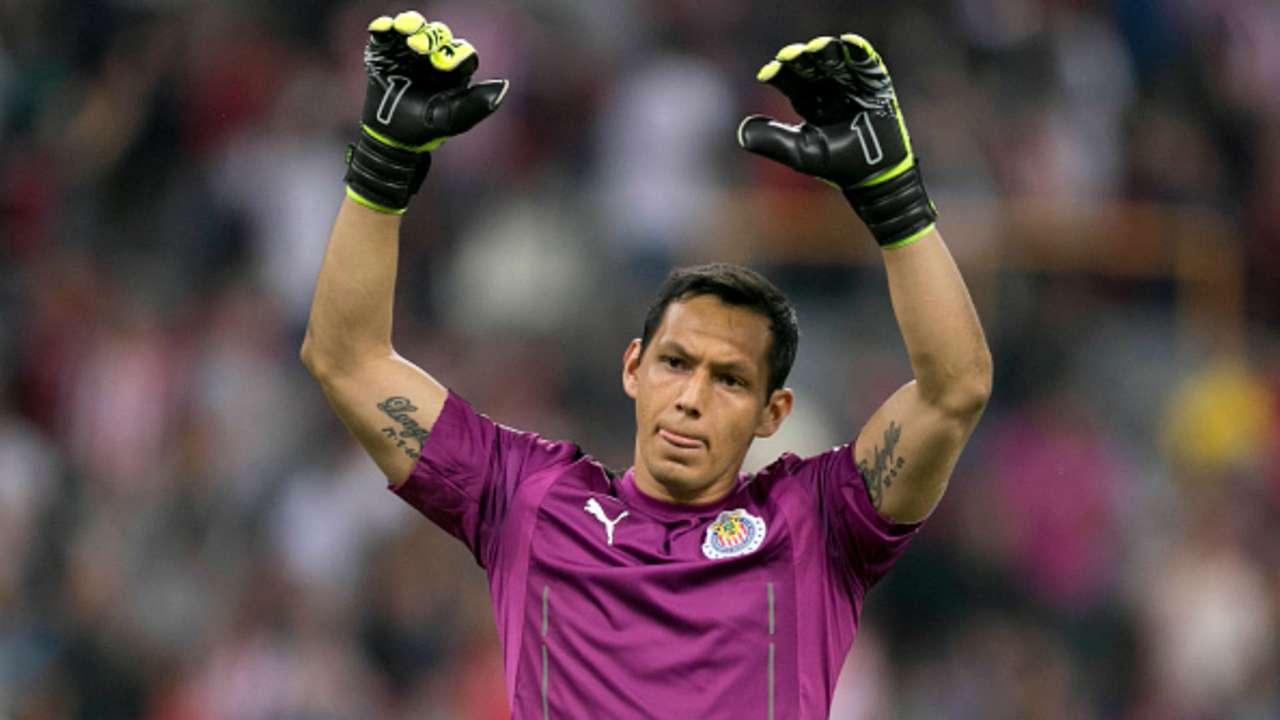 Rodolfo Cota Liga MX México Clausura 2017 Chivas Guadalajara