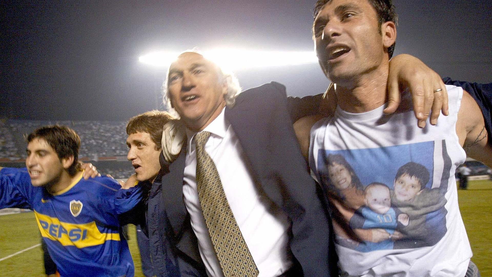 Carlos Bianchi Copa Libertadores 2003