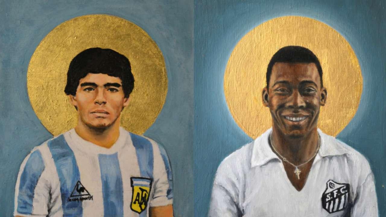 Maradona - Pelé