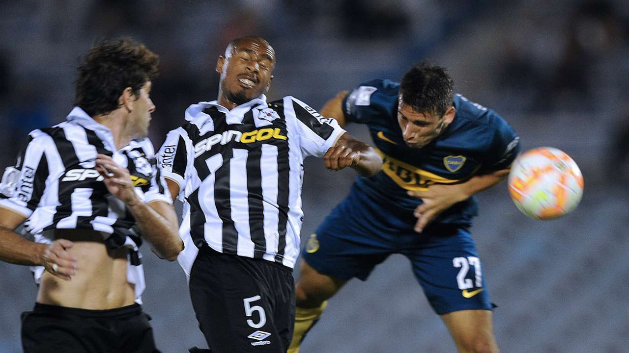 Calerri Wanderers Boca Copa Libertadores Montevideo 09042015