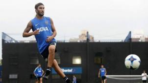 Sebastian Perez Entrenamiento Boca