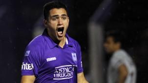 Maximiliano Gomez Defensor Sporting Lanus Copa Sudamericana 01102015