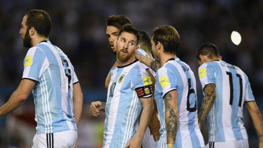 Higuain Messi Biglia Di Maria Argentina Chile Eliminatorias Sudamericanas 2018