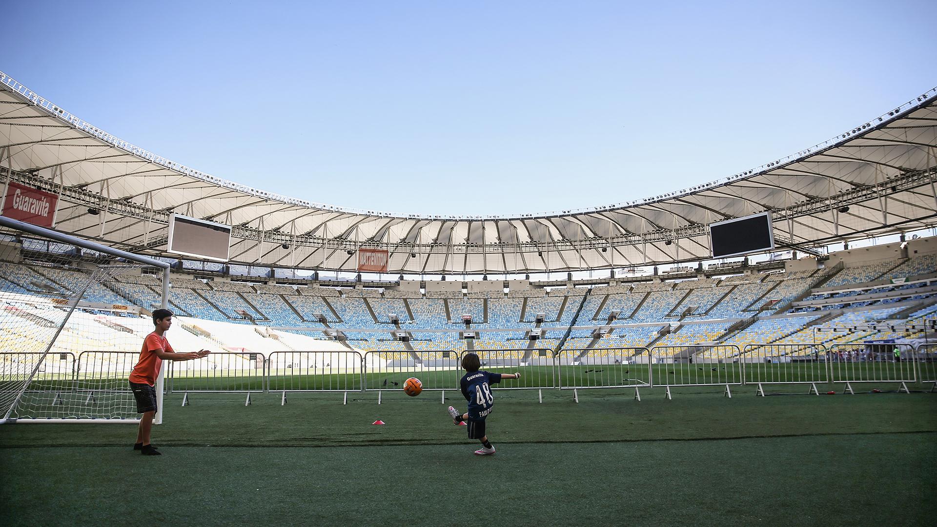 Estadio Maracaná Río 2016 14042016