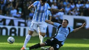 Cristian Lema Gustavo Bou Racing vs Belgrano Primera División Argentina