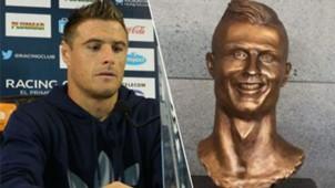 estatua pillud cristiano ronaldo