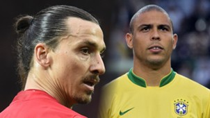 Zlatan Ibrahimovic, Ronaldo Nazario