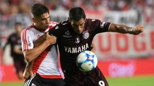 Jorge Moreira Jose Sand River Plate Lanus Supercopa Argentina 04022017