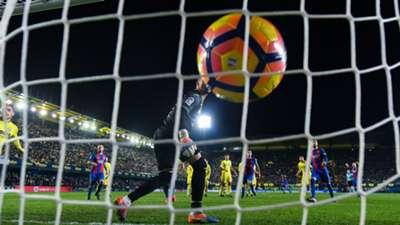 Lionel Messi Villarreal Barcelona La Liga 08012017