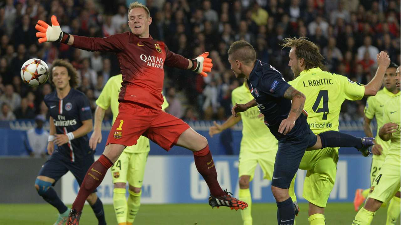Paris Saint-Germain FC Barcelona UEFA Champions League 30092014