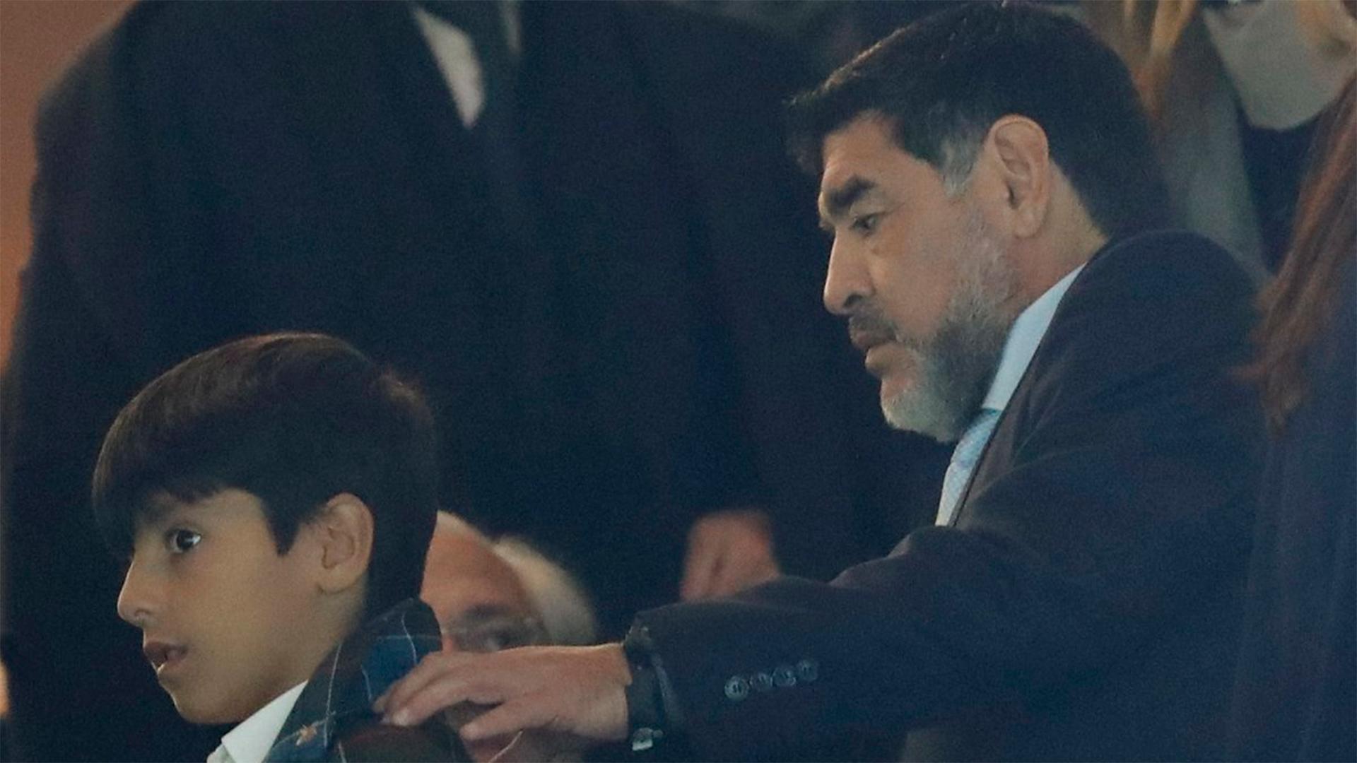Diego Maradona Benjamin Aguero Real Madrid Napoli Champions League 15022017