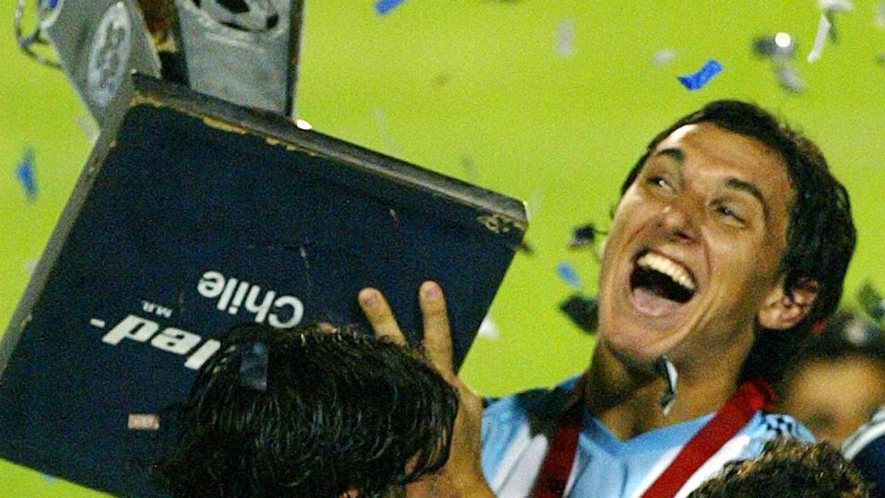 Nicolas Burdisso Argentina Preolympic 2004
