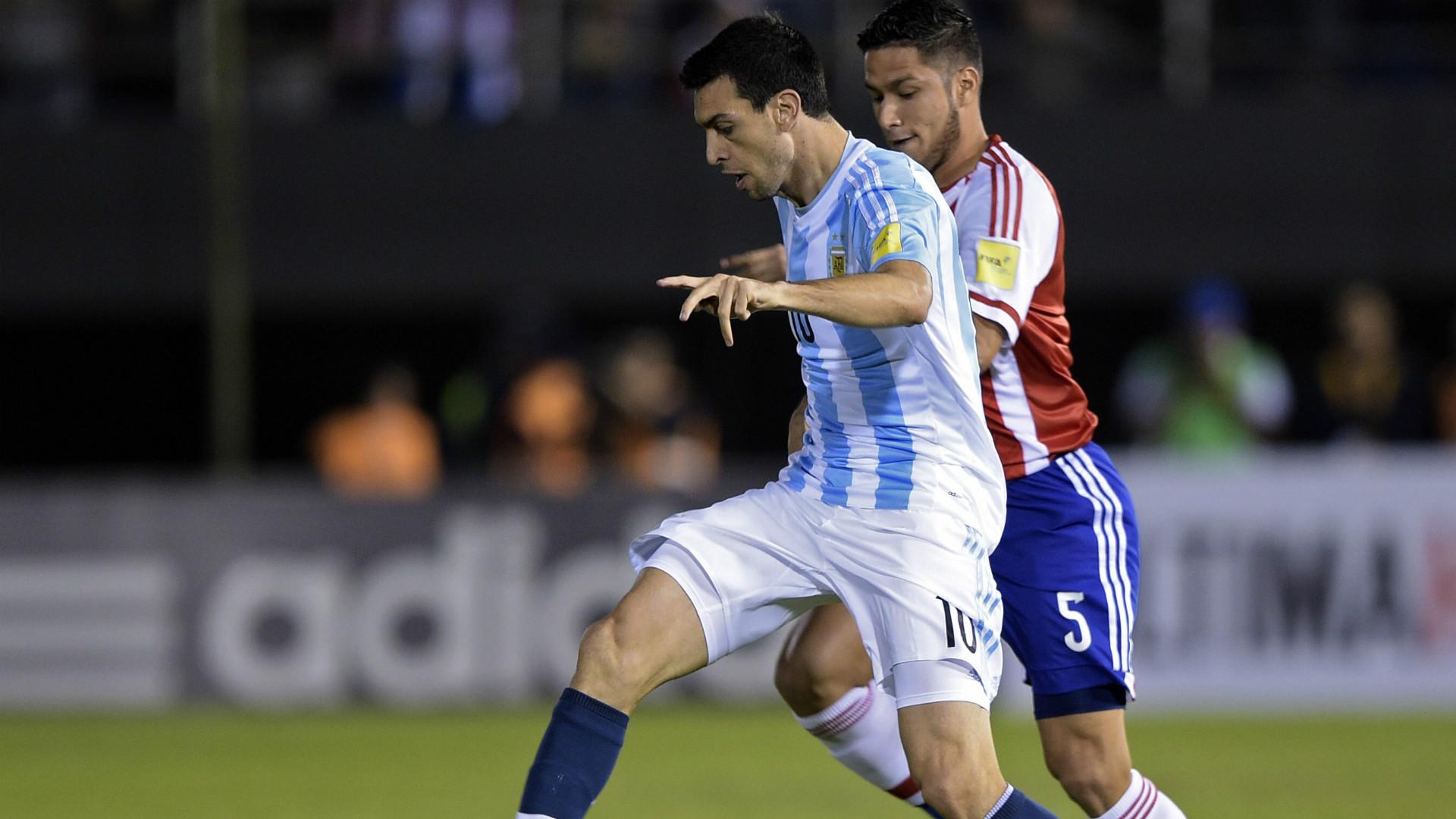 Javier Pastore Paraguay Argentina Eliminatorias sudamericanas
