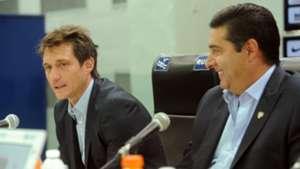 Presentación Guillermo Barros Schelotto Boca 02032016