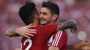 Sebastian Driussi Lucas Alario River Plate Sportivo Rivadavia Copa Argentina 31072016