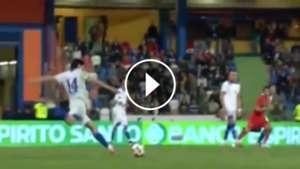 Matías Fernández Goal Portugal Chile 260311