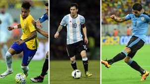Neymar Messi Suarez