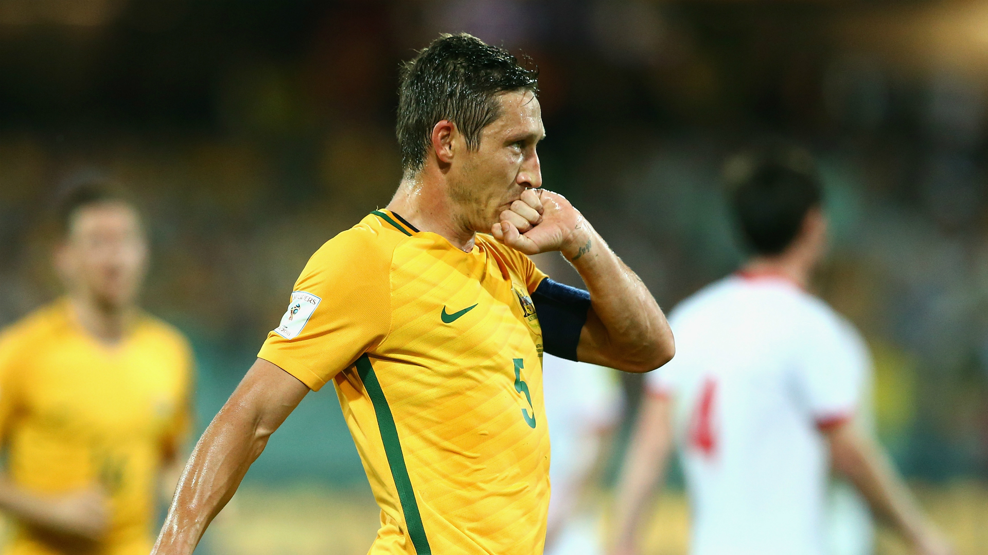Mark Milligan Australia World Cup qualifying