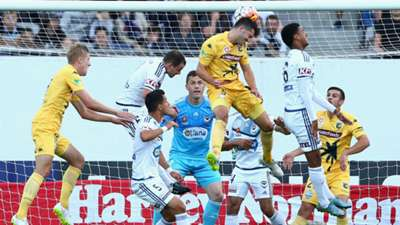 Harry Ascroft Central Coast Mariners v Melbourne Victory A-League 08012016