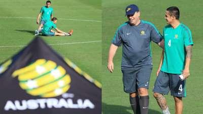 Australia Socceroo training session Melbourne GIO Stadium November 2015 FIFA World Cup 2018 Qualifier