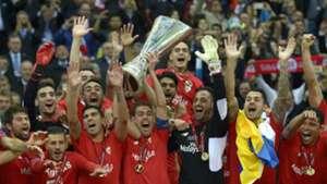 Dnipro v Sevilla UEFA Europa League 27052015