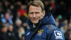 Teddy Sheringham Yeovil Town v Stevenage League Two 14112015