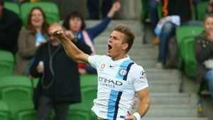 Erik Paartalu Melbourne City v Perth Glory A-League 17122015
