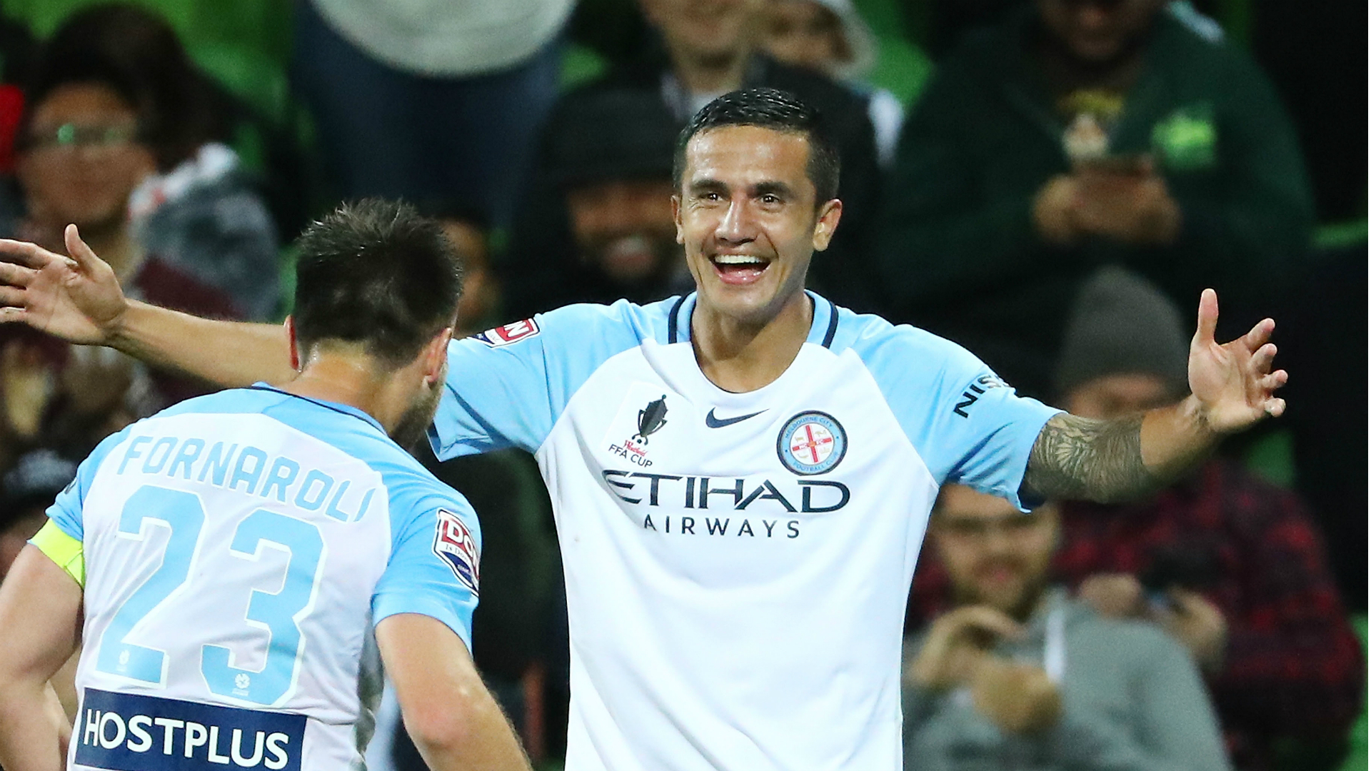 Tim Cahill Leaves Melbourne