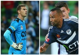 Ante Covic Perth Glory Archie Thompson Melbourne Victory A-League