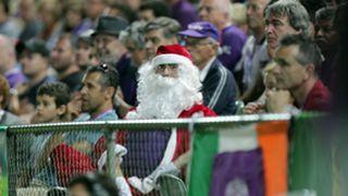 Santa Perth Glory v Central Coast Mariners A-League 23122011