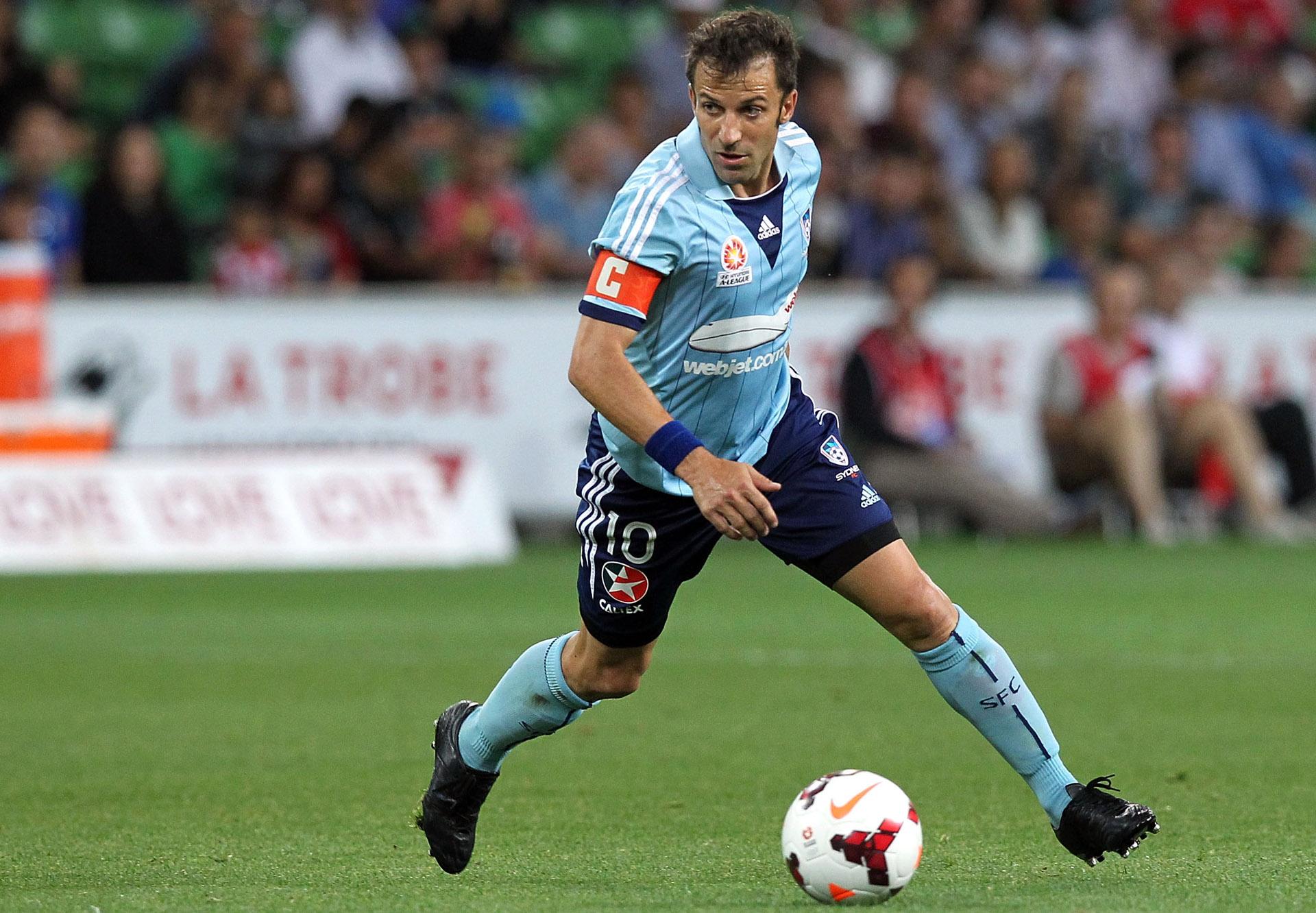 Alessandro Del Piero Sydney FC A-League 29082014