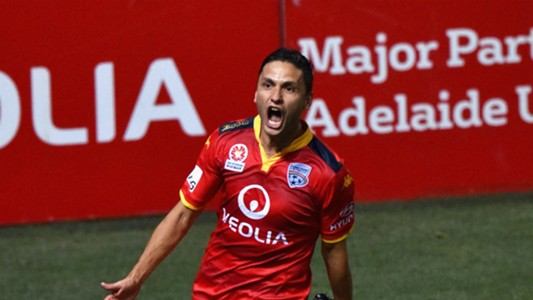 Marcelo Carrusca Adelaide United v Sydney FC A-League 11122015