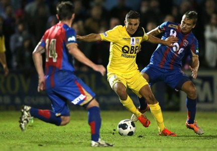 Diogo Ferreira Perth Glory A-League 29082014