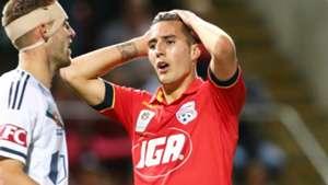 Sergi Guardiola Adelaide United v Melbourne Victory A-League 22102016