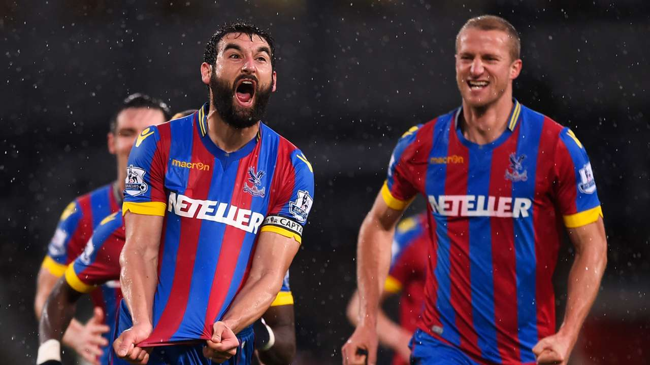 Mile Jedinak Crystal Palace 3-1 Liverpool Premier League 231114