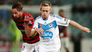 Nick Ward Western Sydney Wanderers A-League 2014-15