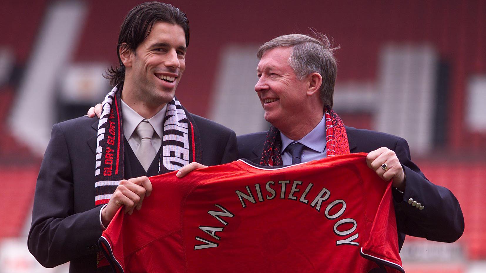 Ruud van Nistelrooy Manchester United 2001