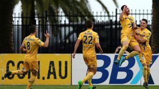 Roy O'Donovan Central Coast Mariners v Perth Glory A-League 10102015
