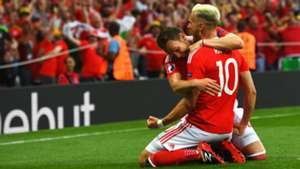 Aaron Ramsey Wales v Russia Euro 2016 20062016